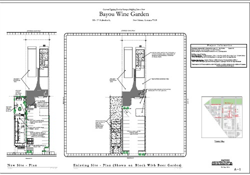 Bayou Wine Garden slated to open by end of summer